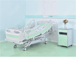 CE approved hospital electric turn over bed for disabled