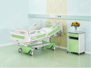 China factory electric ICU bed with nurse control