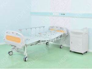 Double crank hospital bed made in China