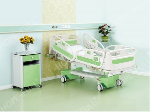 HOPEFULL multifunctional electric ICU bed can be designed with bed extension