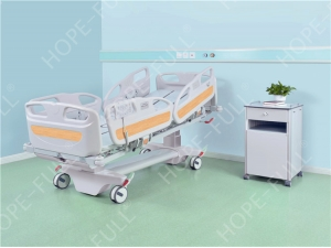Healthcare equipment patient in hospital turn over bed