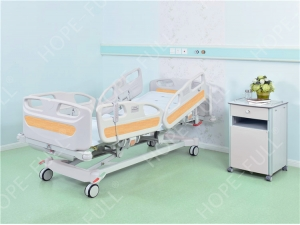 Hospital and medical bed manufacturer five function electric bed