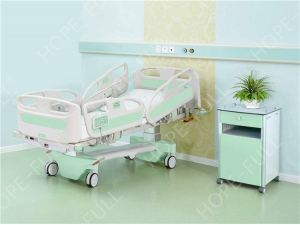 Hospital bed exporter electric adjustable bed with weight scale