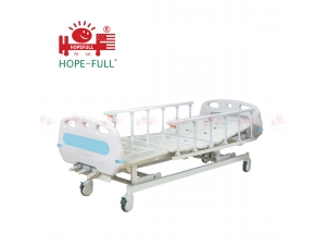 LuckyMed Sa636a Three function manual hospital bed