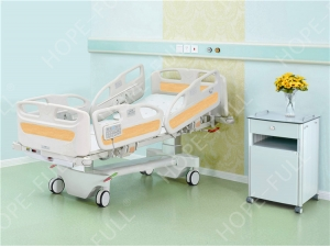 Multifunctional electric ICU hospital bed with scale weighing function