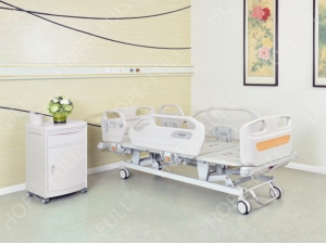 Professional hospital bed manufacturer three function electric bed