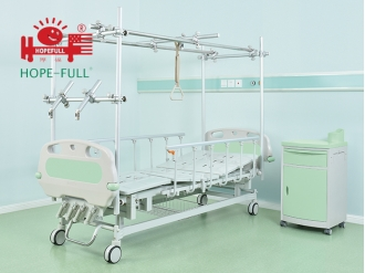 China Ac658a manual bed (gantry orthopedic bed) factory