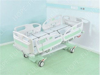China Adjustable beds patient in hospital turn over bed factory