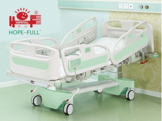 China B988t Multifunctional electric ICU bed,Hospital Bed factory