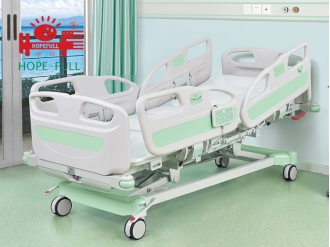 China Ba868y-18a2 ICU bed multifunction hospital bed factory