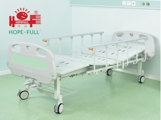 China D356a Two crank manual bed hospital bed factory