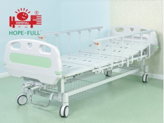 China D358a Two crank manual bed hospital bed factory