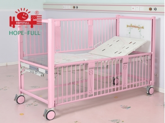 China Er376a two functions children's manual bed factory