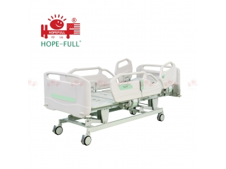 China HOPEFULL K736a Three function electric hospital bed  hospital bed mattress factory