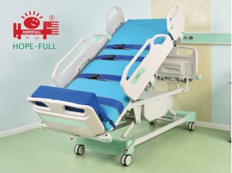 China Li838a multi-function standing electric ICU bed factory