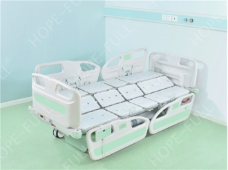 China Professional hospital nursing bed CE approved electric turn over bed factory