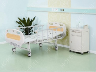 China Two crank hospital bed from HOPEFULL supplier China factory